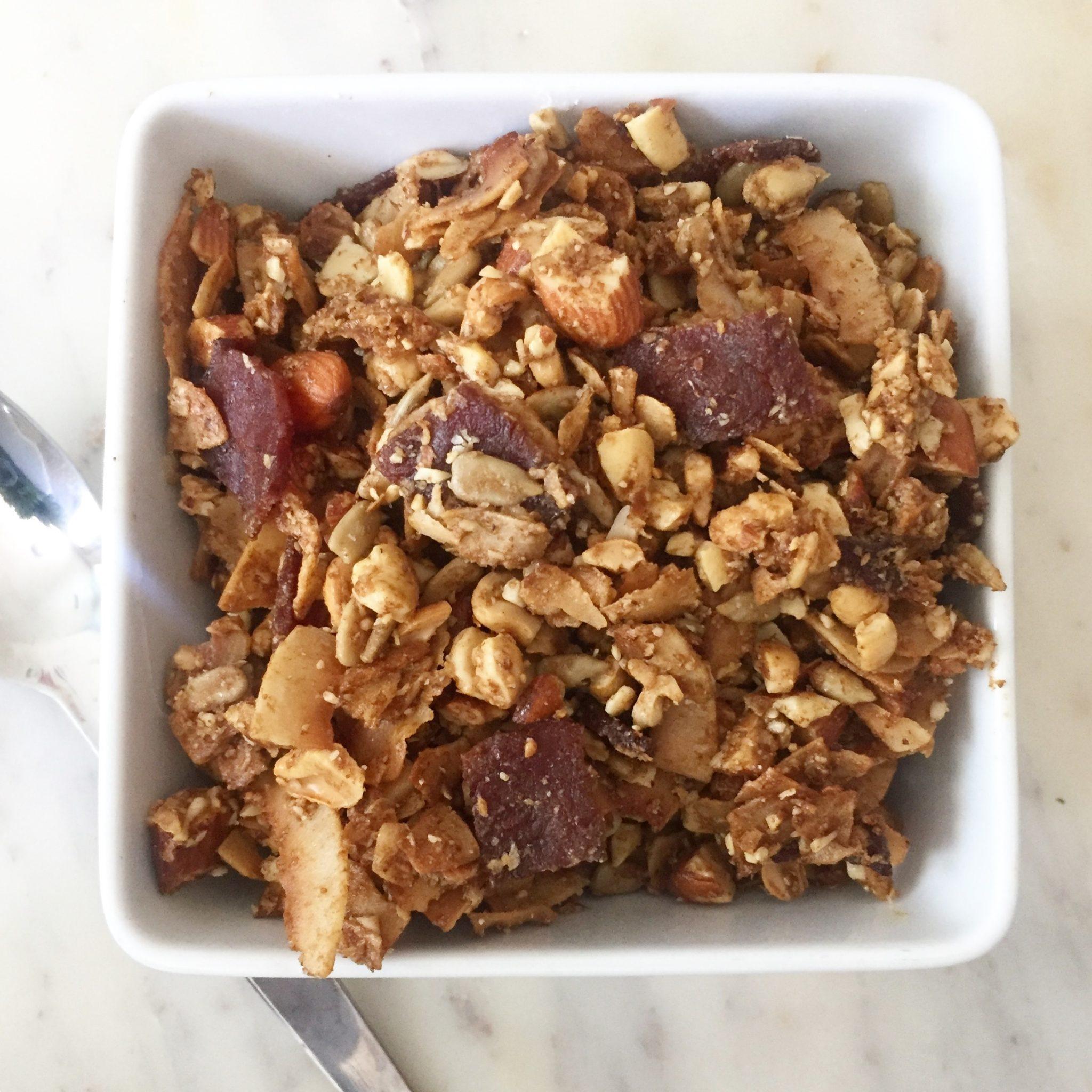 Keto Sweet Bacon Granola Recipe